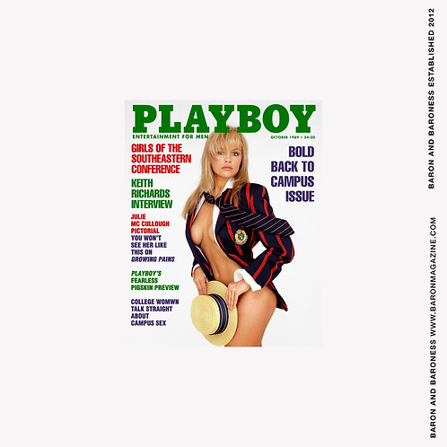 PLAYBOY - Pamela Andersons first cover