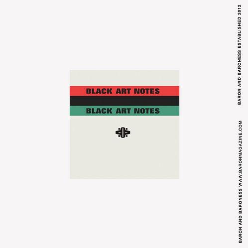 VARIUOUS , Black Art Notes