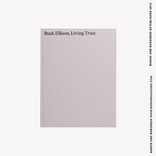BUCK ELLISON , Living Trust