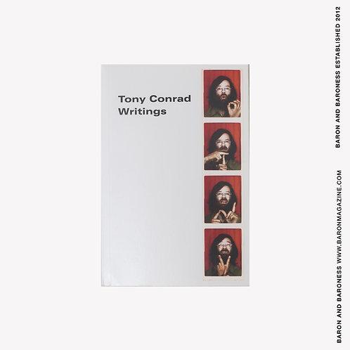 TONY CONRAD , Writings