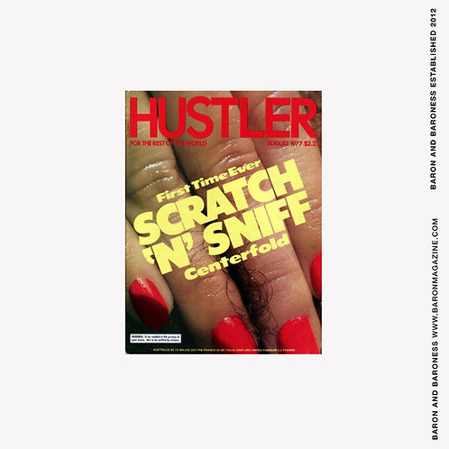 HUSTLER Scratch and Sniff issue