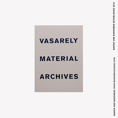 Vasarely Material Archives by Oran Hoffmann