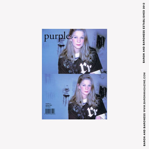 Purple Magazine #7