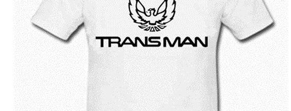 """""""Transman"""" SS T-Shirt - White"""