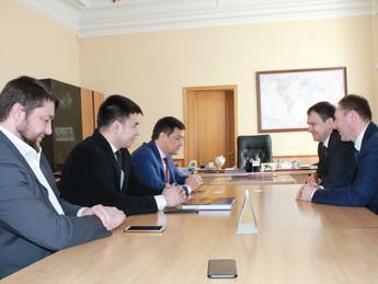 Вице-президент «ОПОРЫ РОССИИ» Азат Газизов с рабочим визитом посетил Курск
