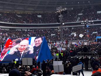 """Представители """"ОПОРЫ РОССИИ"""" приняли участие в митинге-концерте """"За сильную Россию!&q"""