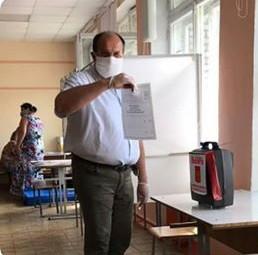 Представители Псковского регионального отделения выразили свою позицию по поправкам в Конституцию Ро
