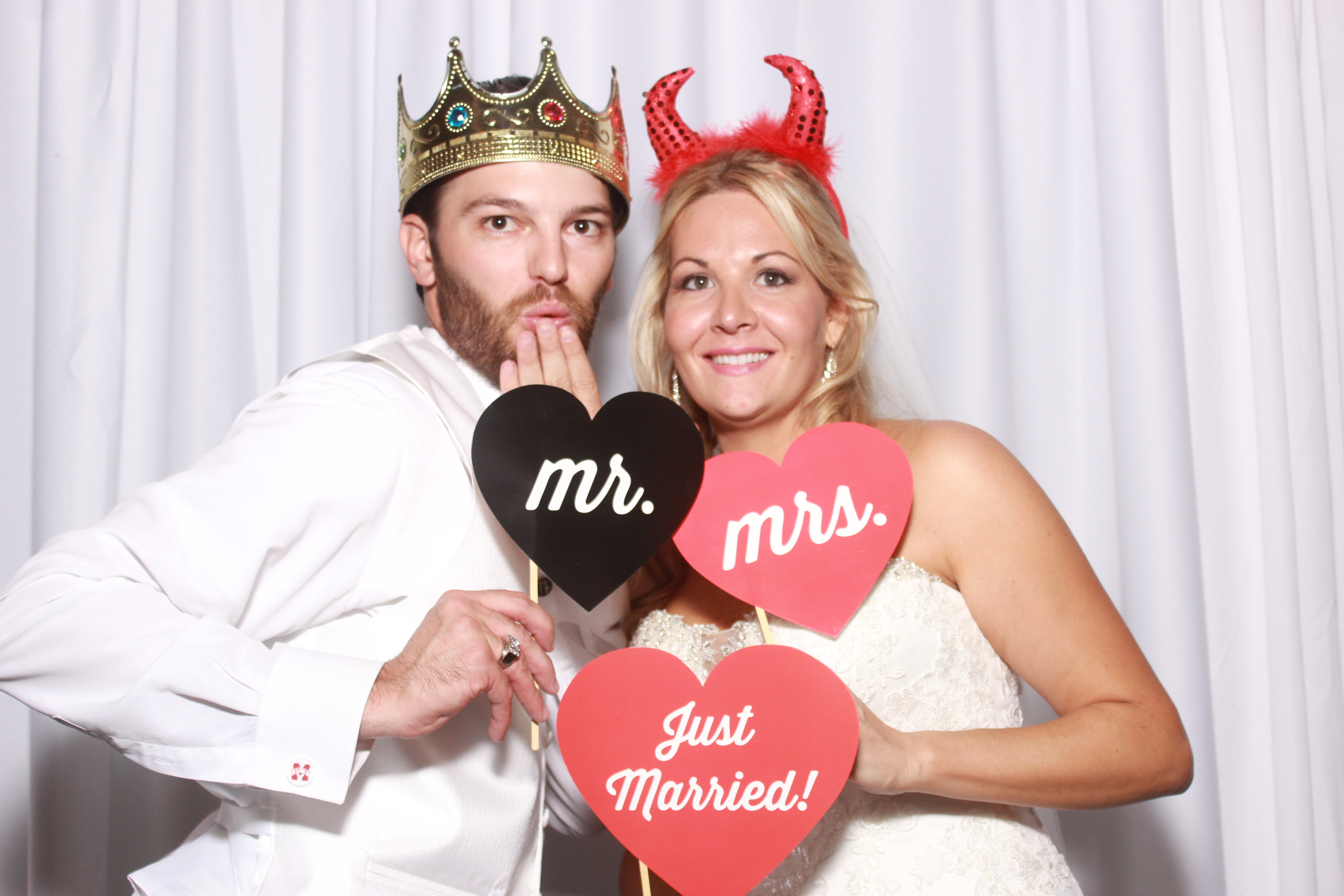 Pensacola Photo Booth wedding fun