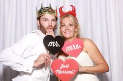 Pensacola Photo Booth wedding fun
