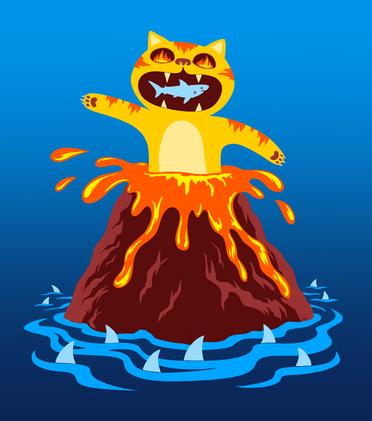 Volcano Cat