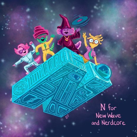 N for new wave & nerdcore