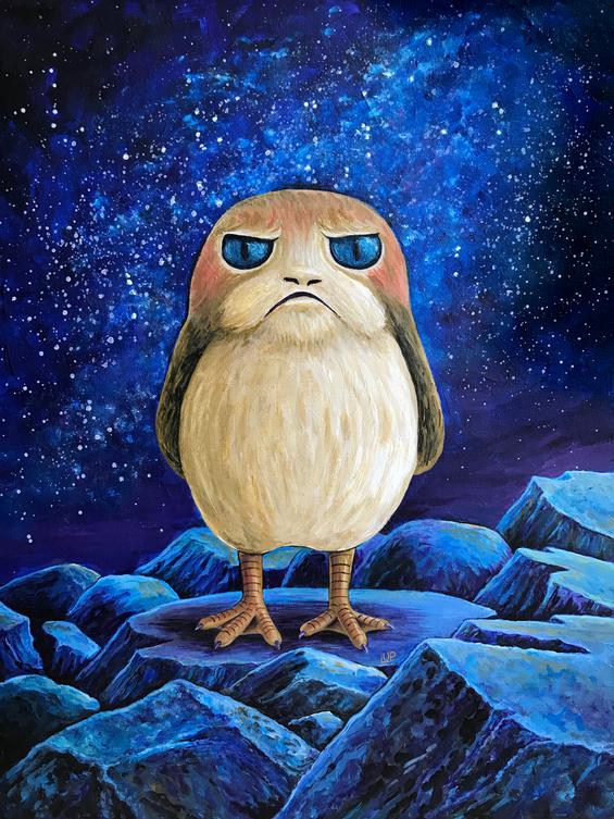 Grumpy Porg