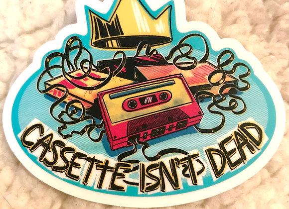 Cassette Isn't Dead Sticker