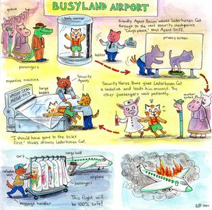 Busyland airport