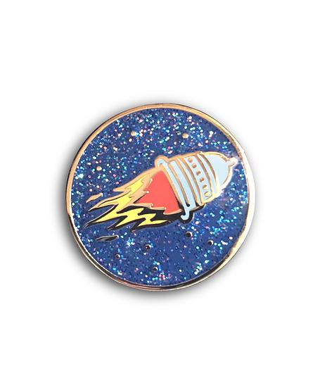 Pussy Rocket Pin