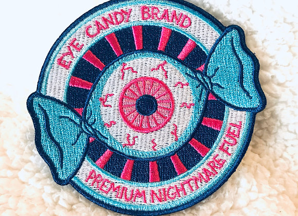 Eye Candy Logo Embroidered Patch