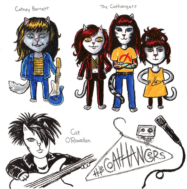 Punky cats