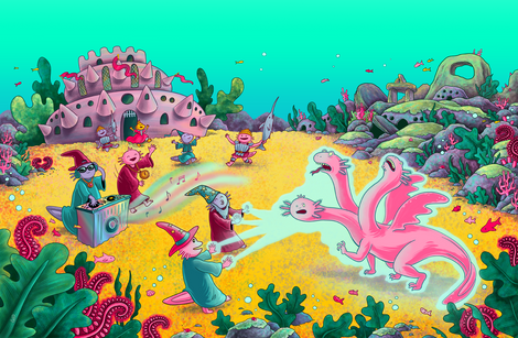 DJ Axolotl Wizard