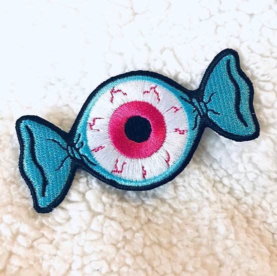 Eye Candy Embroidered Patch