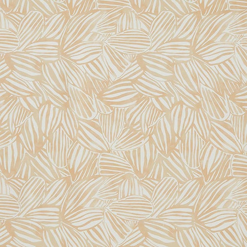 Outdoor Abstract Leaves | Beige