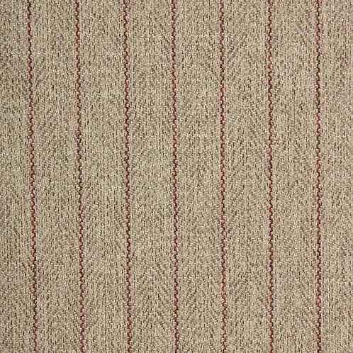 Morris Herringbone | Taupe / Rouge