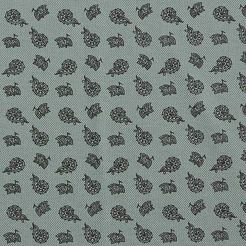 Cotton Jersey   Pique Paisley   Reed