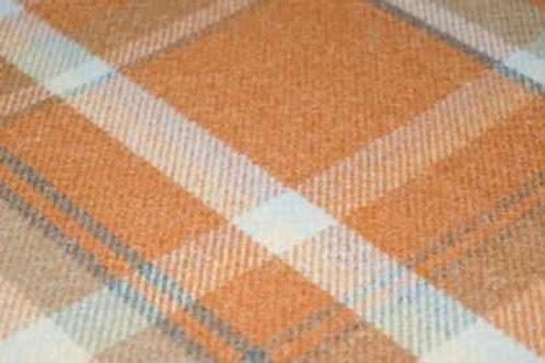 Premium Balmoral Tartan   Autumn Orange