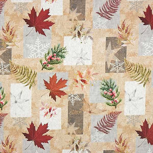 Christmas | Half Panama Decor Fabric Christmas – Natural