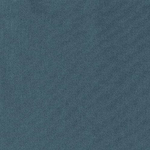 Plain Linen   Petrol Blue