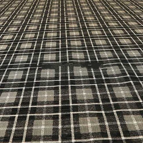 Yorkshire Chenille Designs | Ketu Checkered Black