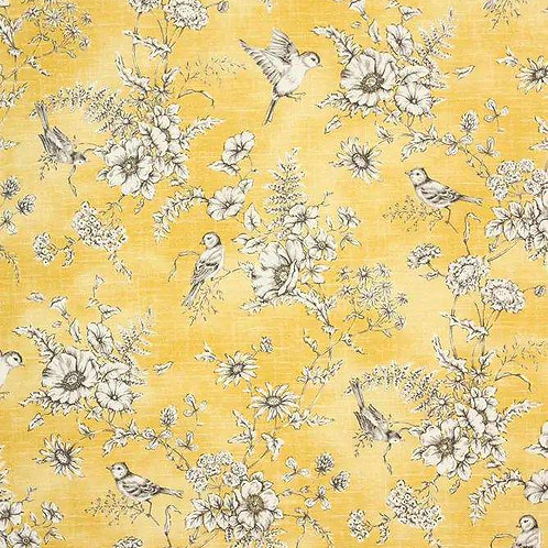 Finch Toile | Buttercup
