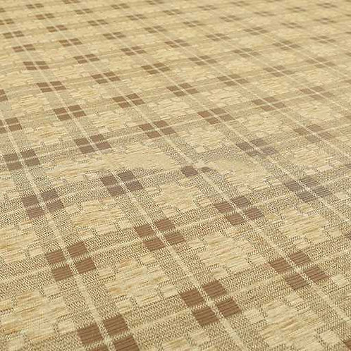 Yorkshire Chenille Designs | Ketu Checkered Beige