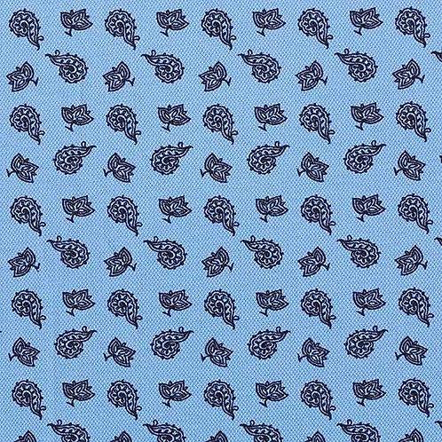 Cotton Jersey | Pique Paisley | Light Blue