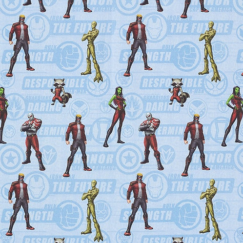 Cretonne Licensed | Guardians of the Galaxy | Light Blue