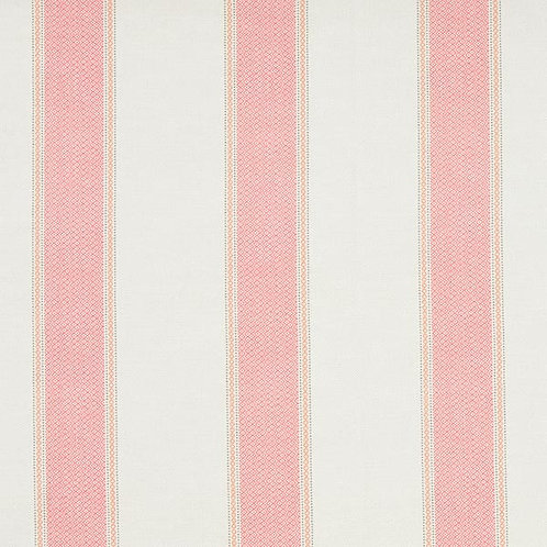 Outdoor Fabric Stripes | Salmon
