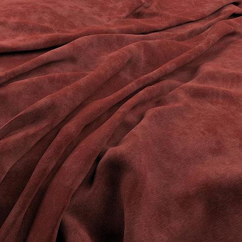Textured Velvet   Madder
