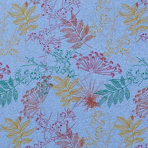 Alpine Fleece | Botanical Royal Blue