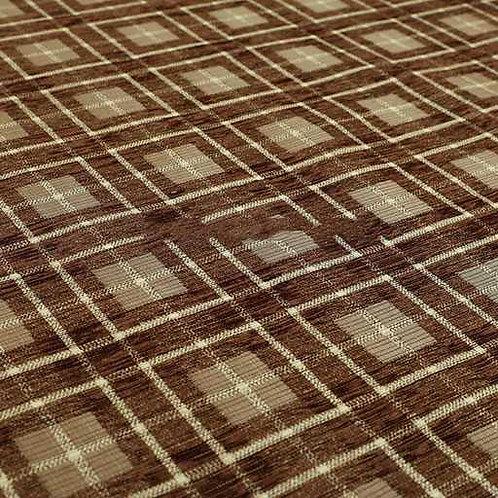 Yorkshire Chenille Designs | Ketu Checkered Brown