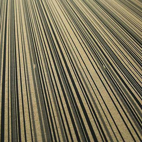 Yorkshire Stripes | Brown+Horizontal