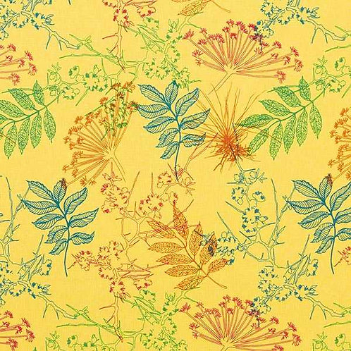 Alpine Fleece | Botanical Light Yellow