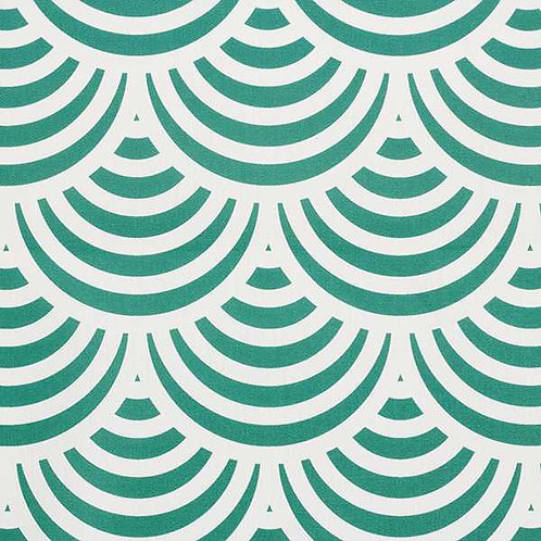 Waterproof Dralon | Graphic Print Green