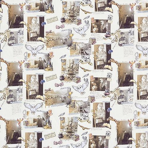 Cretonne Licensed | Harry Potter Memories | Light Beige