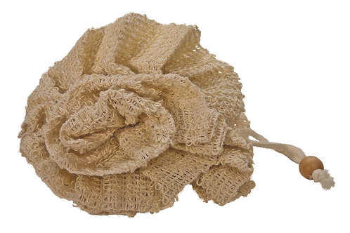 Fleur de bain en Sisal 15 cm