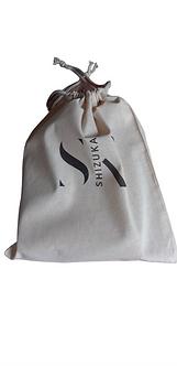 """Emballage cadeau Pochon """"Fair trade"""" en coton"""