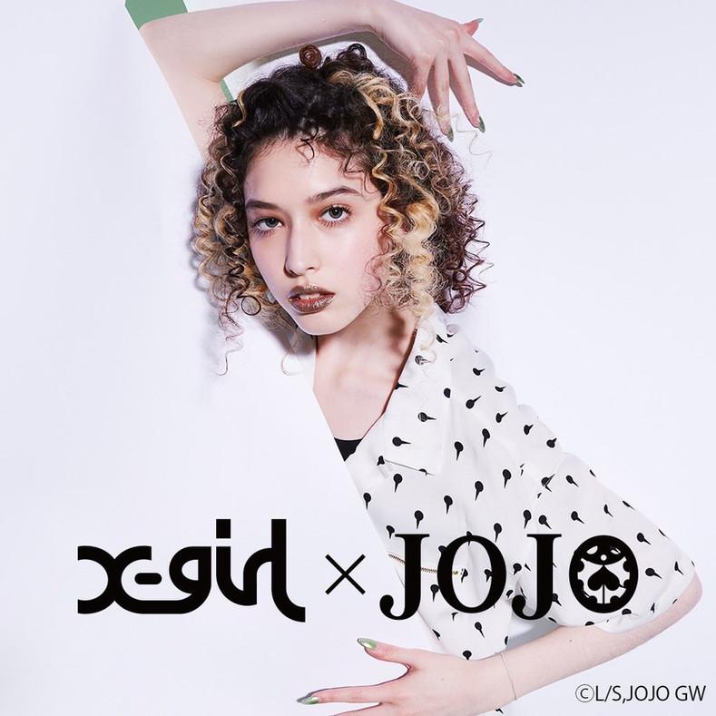 Xgirl x JOJOの奇妙な冒険 黄金の風