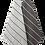 Thumbnail: Badetuch, LIITURAITA, 75x150cm, grau/weiss