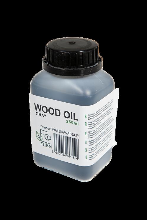 Holzöl, Grau, 2,5 dl