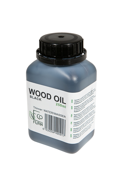 Holzöl, Schwarz, 2,5 dl