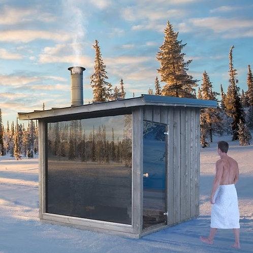 FinVision Sauna, Holzofen