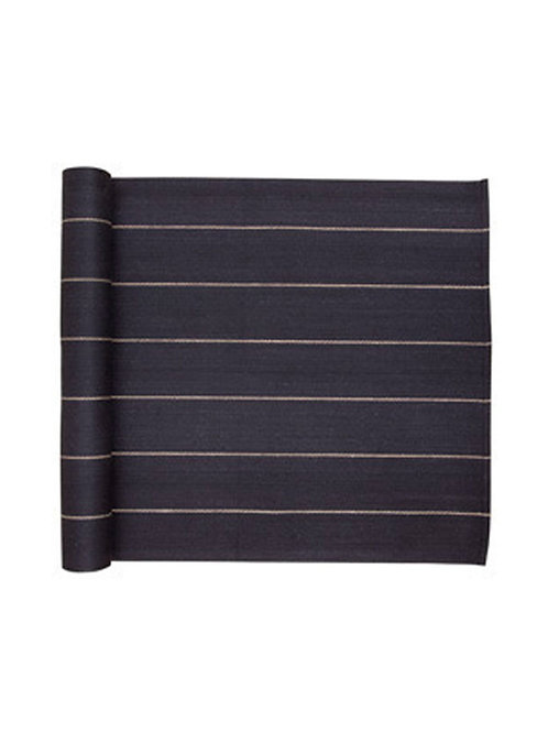 Sitztuch, LIITURAITA, schwarz, 45x140cm